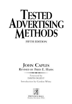 John Caples Tested Advertising Methods Pdf Download