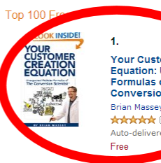 Thumbnail image for Your Customer Creation Equation Ranks on Amazon