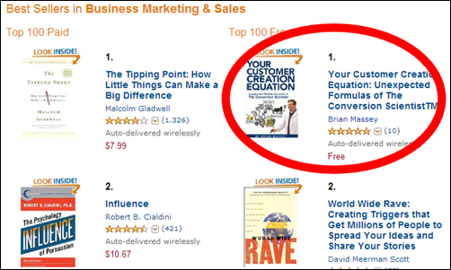 Top 100 Business Books Screen Cap-Highlight-Close